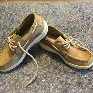 Boys Sperry Top Siders size 12 . 5